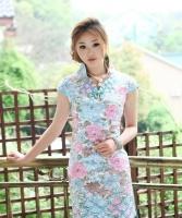 美丽气质的旗袍佳丽